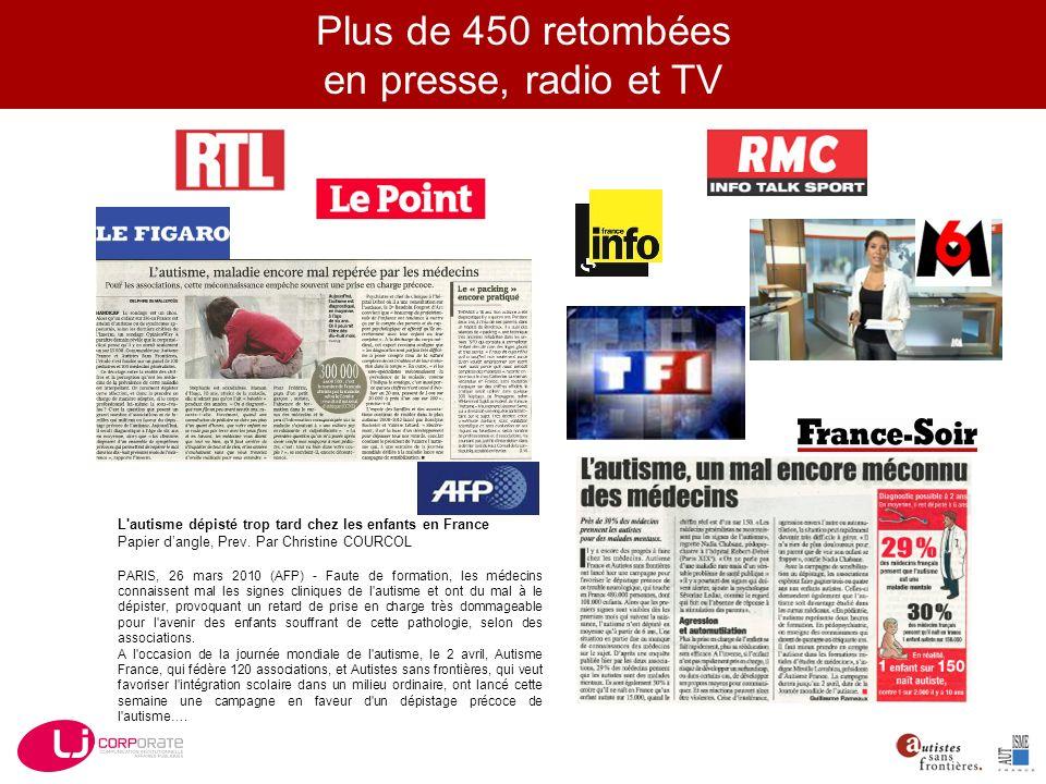 L autisme dépisté trop tard chez les enfants en France Papier dangle, Prev.