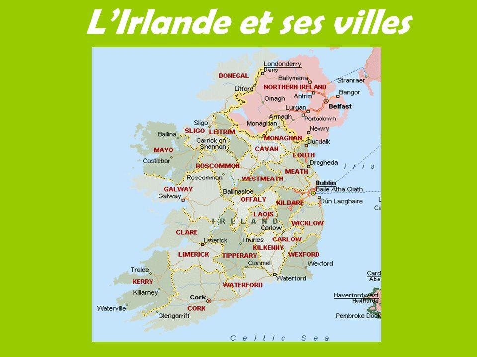 LIrlande et ses villes