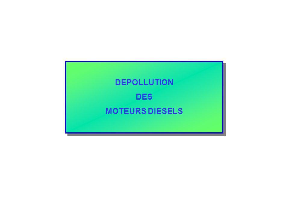 DEPOLLUTION DES MOTEURS DIESELS DEPOLLUTION DES MOTEURS DIESELS