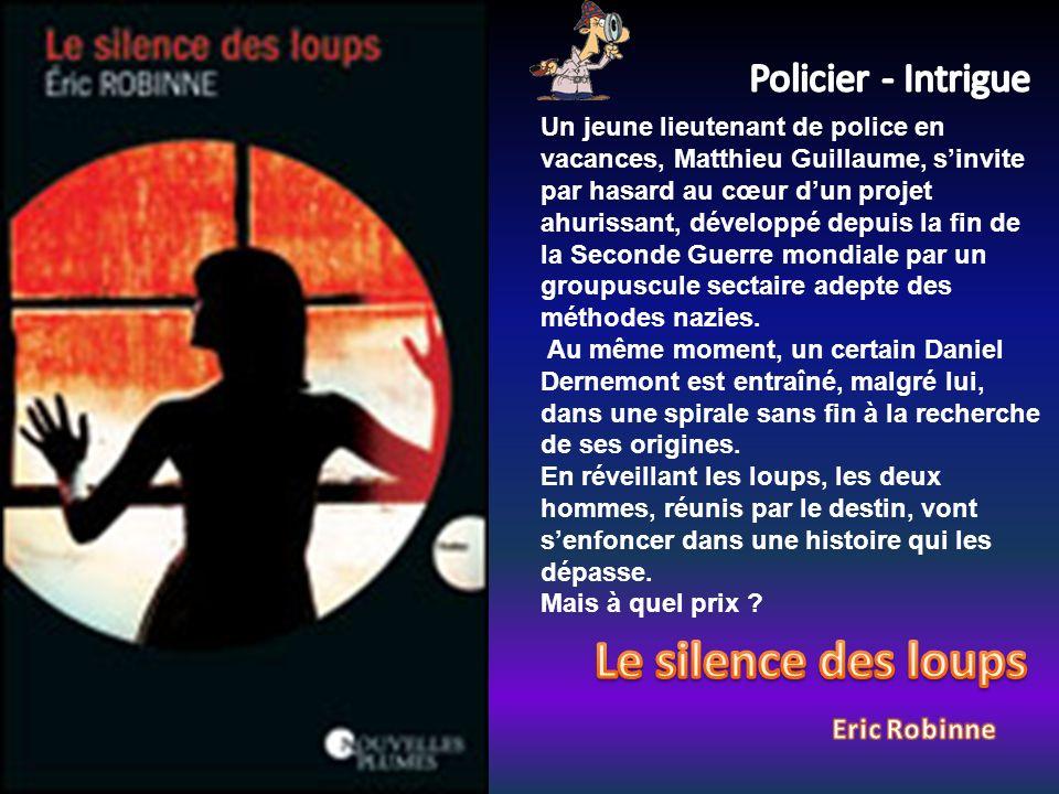 Un jeune lieutenant de police en vacances, Matthieu Guillaume, sinvite par hasard au cœur dun projet ahurissant, développé depuis la fin de la Seconde