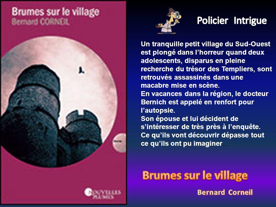 Un tranquille petit village du Sud-Ouest est plongé dans lhorreur quand deux adolescents, disparus en pleine recherche du trésor des Templiers, sont retrouvés assassinés dans une macabre mise en scène.
