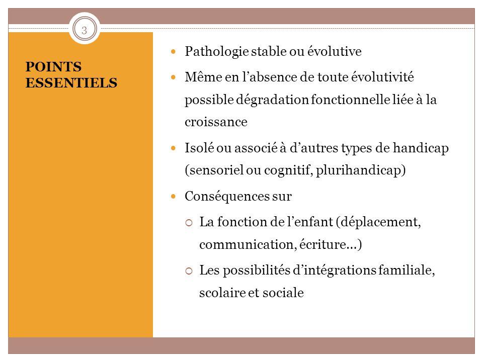1) Causes stables, non évolutives 2) Causes évolutives LES CAUSES 4