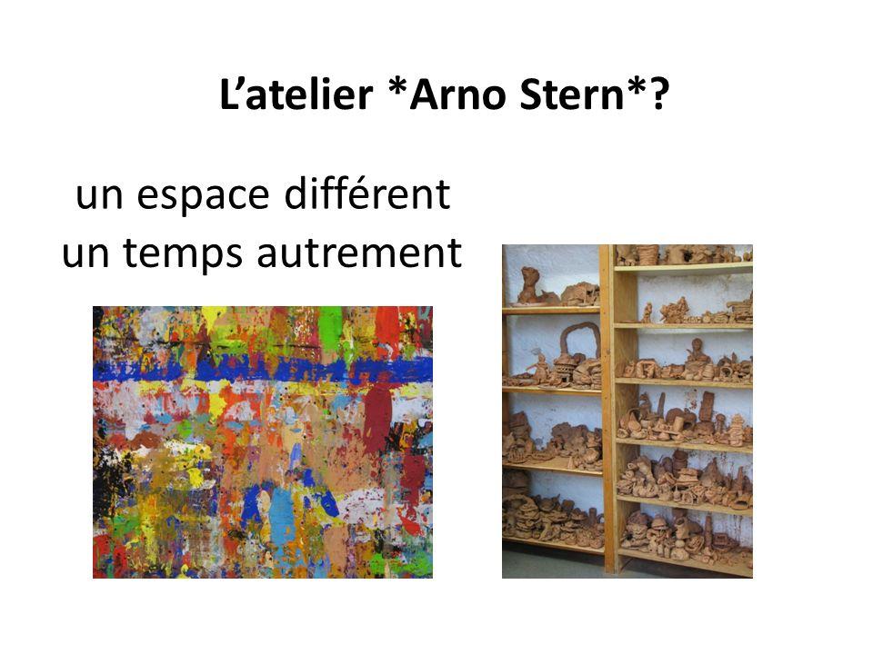 un espace différent Latelier *Arno Stern*? un temps autrement