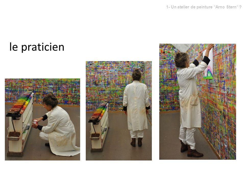 le praticien 1- Un atelier de peinture *Arno Stern* ?