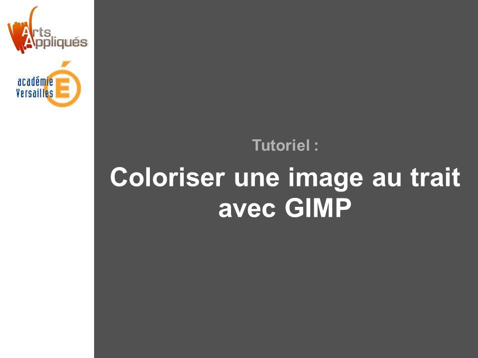 Tutoriel : Coloriser une image au trait avec GIMP