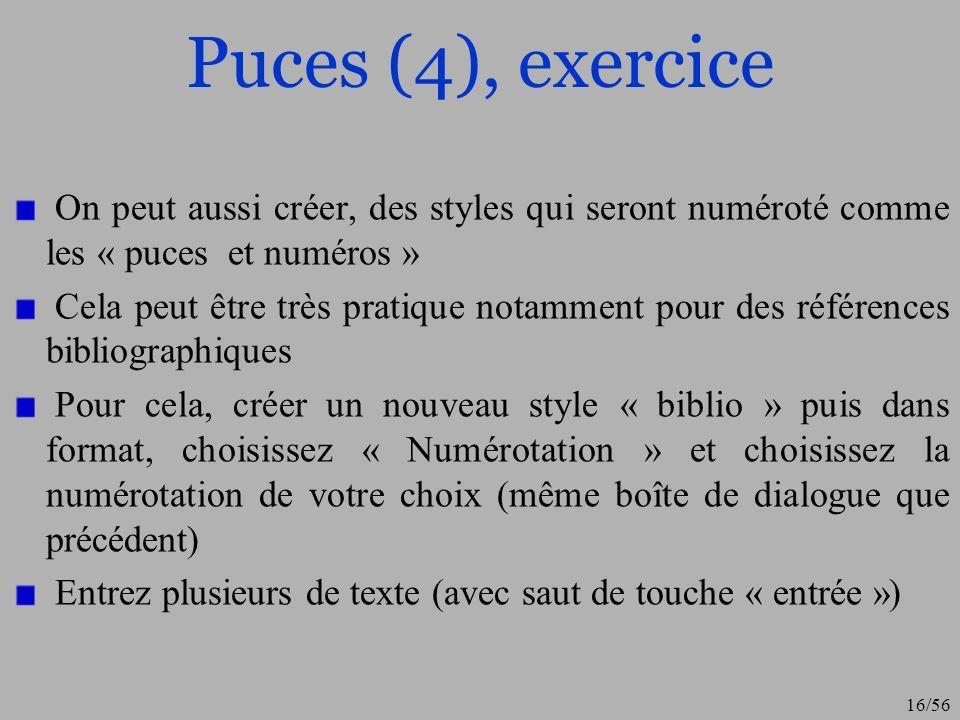 17/56 Champs et références
