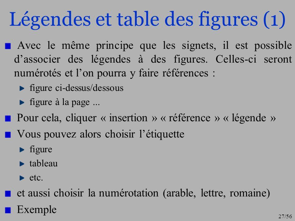 28/56 Légendes et table des figures (2)