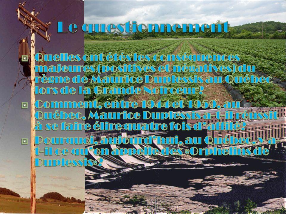 2 ème mandat 19481952 3 ème mandat 4ème mandat 1945 Début du programme délectrisation rurale.