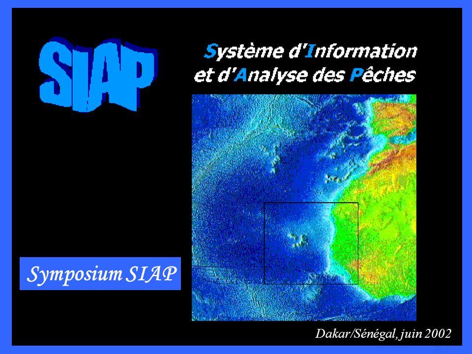 Diagnostic de létat dexploitation de cinq espèces démersales côtières sénégalaises Projet Système dInformation et dAnalyse des Pêches au Sénégal Par Mariama D.