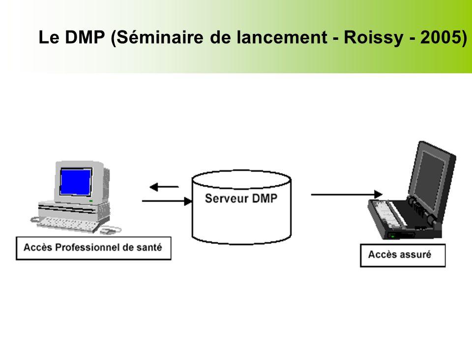 Le DMP (Séminaire de lancement - Roissy - 2005)