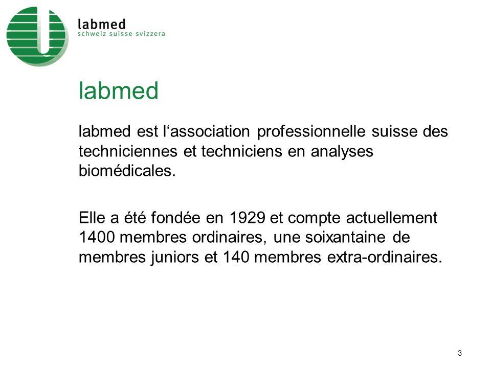 3 labmed labmed est lassociation professionnelle suisse des techniciennes et techniciens en analyses biomédicales.