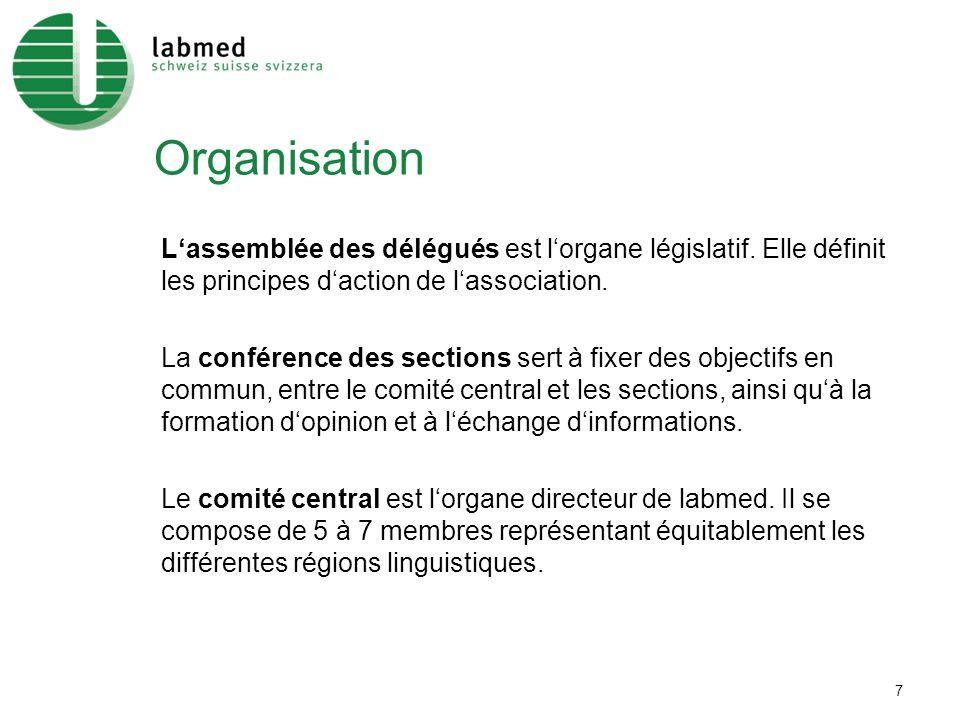 7 Organisation Lassemblée des délégués est lorgane législatif.