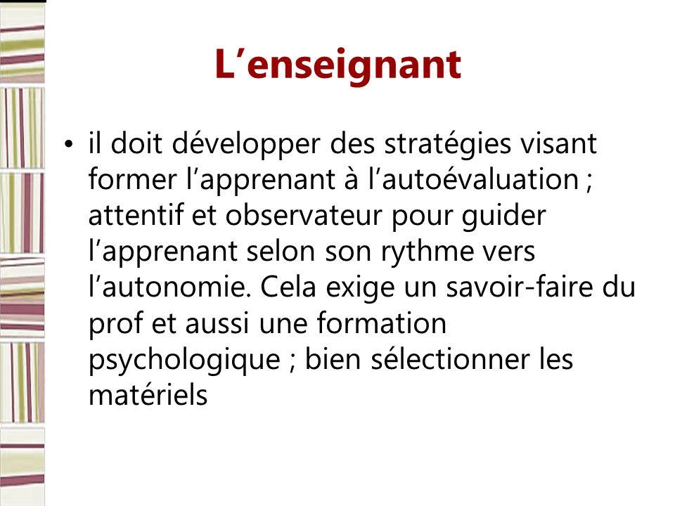 Lévaluation des apprentissages en langue étrangère.