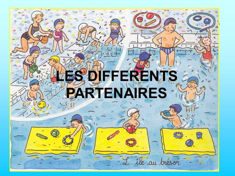 LES DIFFERENTS PARTENAIRES
