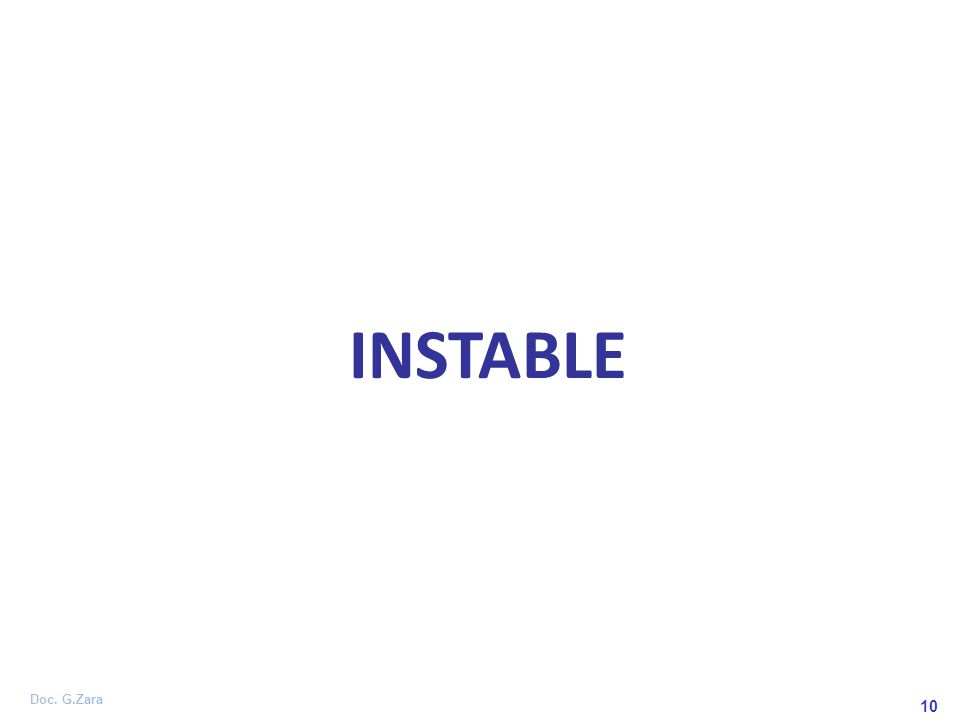 10 INSTABLE