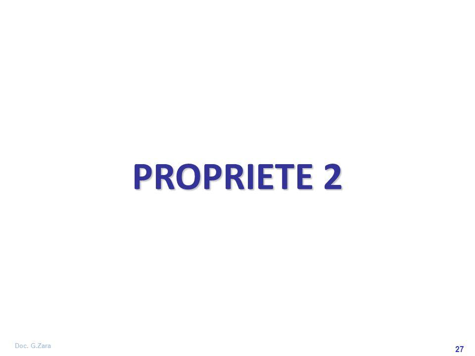Doc. G.Zara 27 PROPRIETE 2