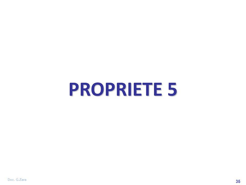 Doc. G.Zara 35 PROPRIETE 5