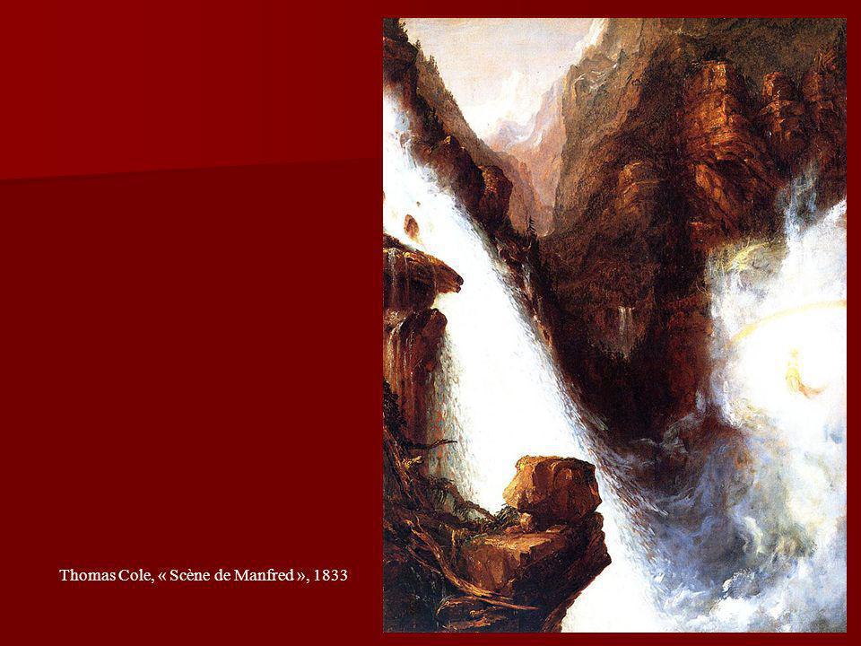 20 Thomas Cole, « Scène de Manfred », 1833