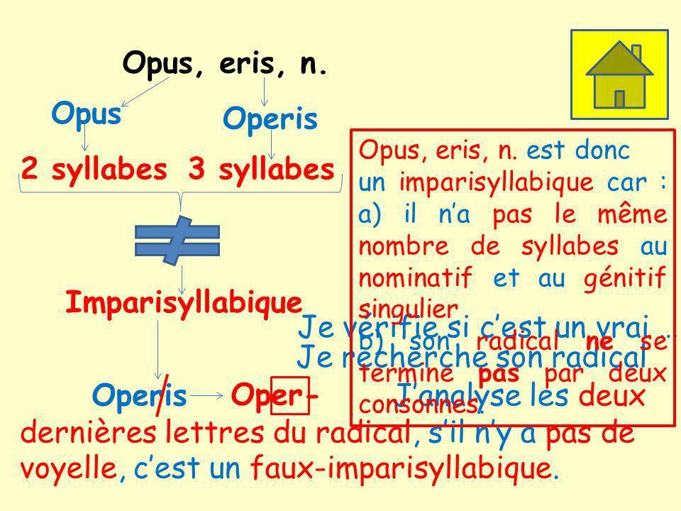 Opus, eris, n.