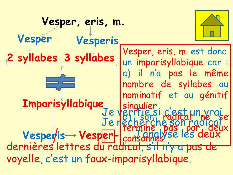 Vesper, eris, m.