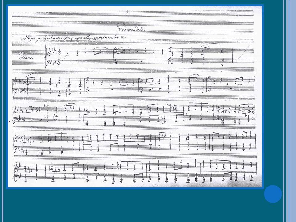 « Bydlo » (extrait) Zoom sur une œuvre Moussorgski, Tableaux dune exposition par André Lischke Kandinsky, Bydlo