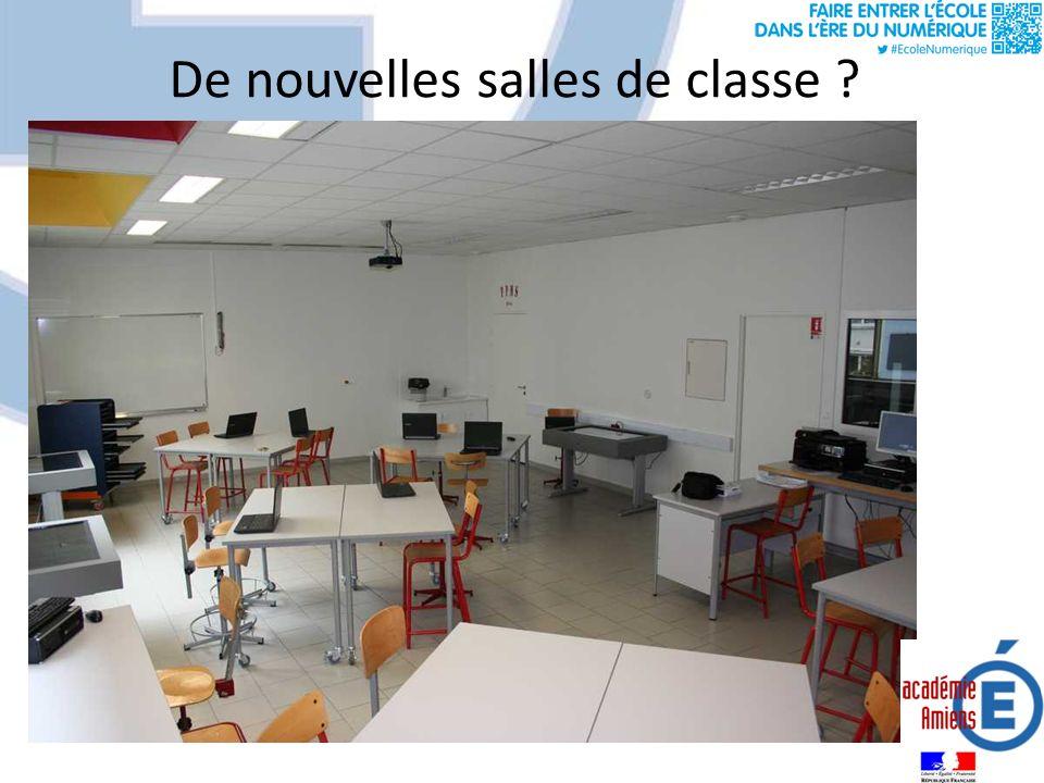 De nouvelles salles de classe