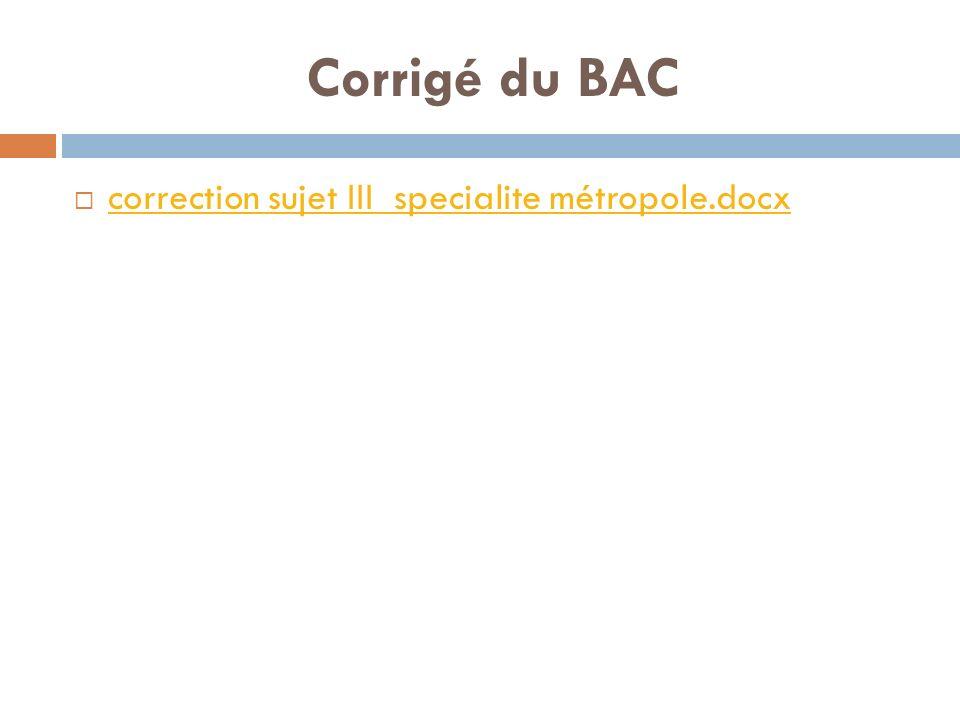 Corrigé du BAC correction sujet III specialite métropole.docx