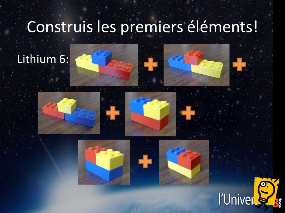 Construis les premiers éléments! Lithium 6: