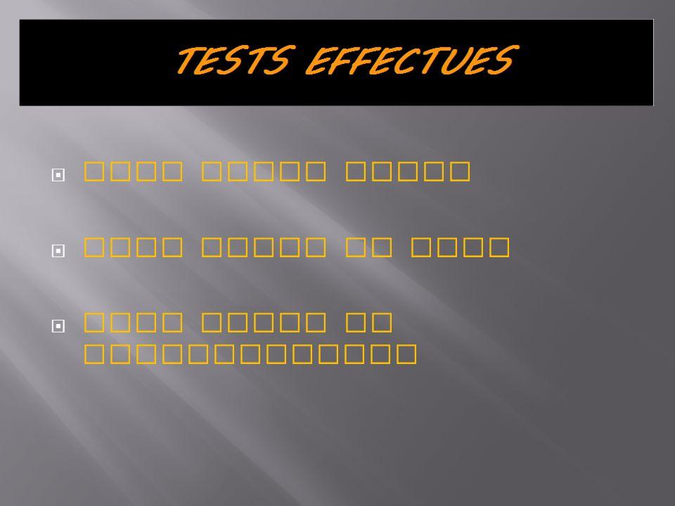 Ce test consiste à tester les fonctionnalités du programme ainsi que de repérer les erreurs se produisant lors de l exécution Pour cela nous avons tester plusieurs commandes et comparer si les résultats étaient les mêmes que ceux attendus Nous avons déterminés que les tests étaient concluants