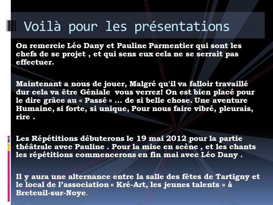 Merci à lassociation « Kré-Art, les jeunes talents » Merci, pour notre sponsor et accompagnatrice du spectacle : Lassociation Kré-Art !