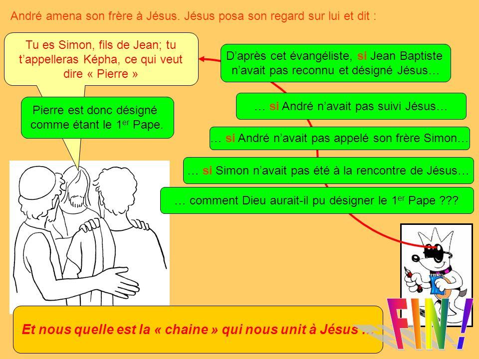 André amena son frère à Jésus.