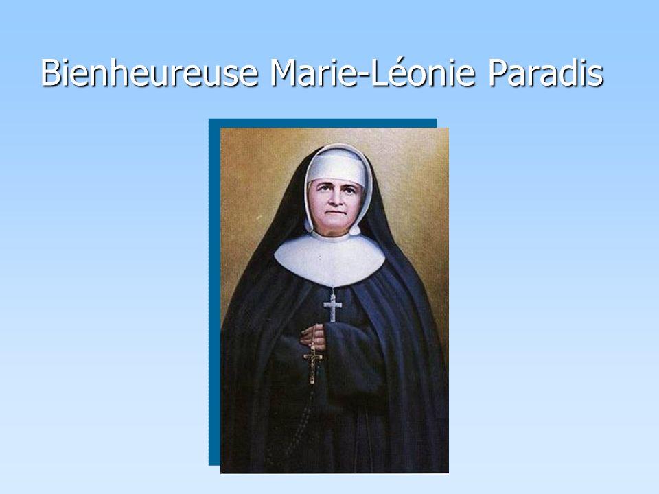 Bienheureuse Marie-Léonie Paradis