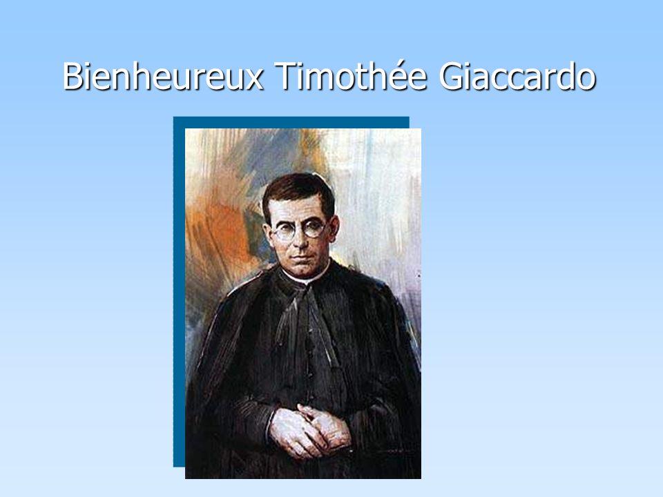 Bienheureux Timothée Giaccardo