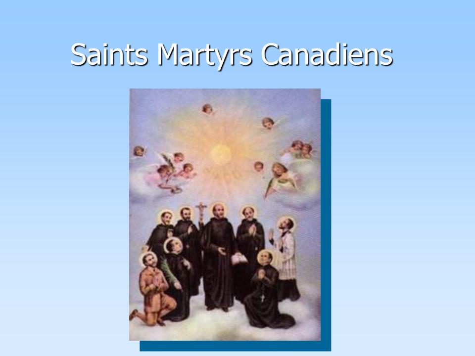 Saints Martyrs Canadiens