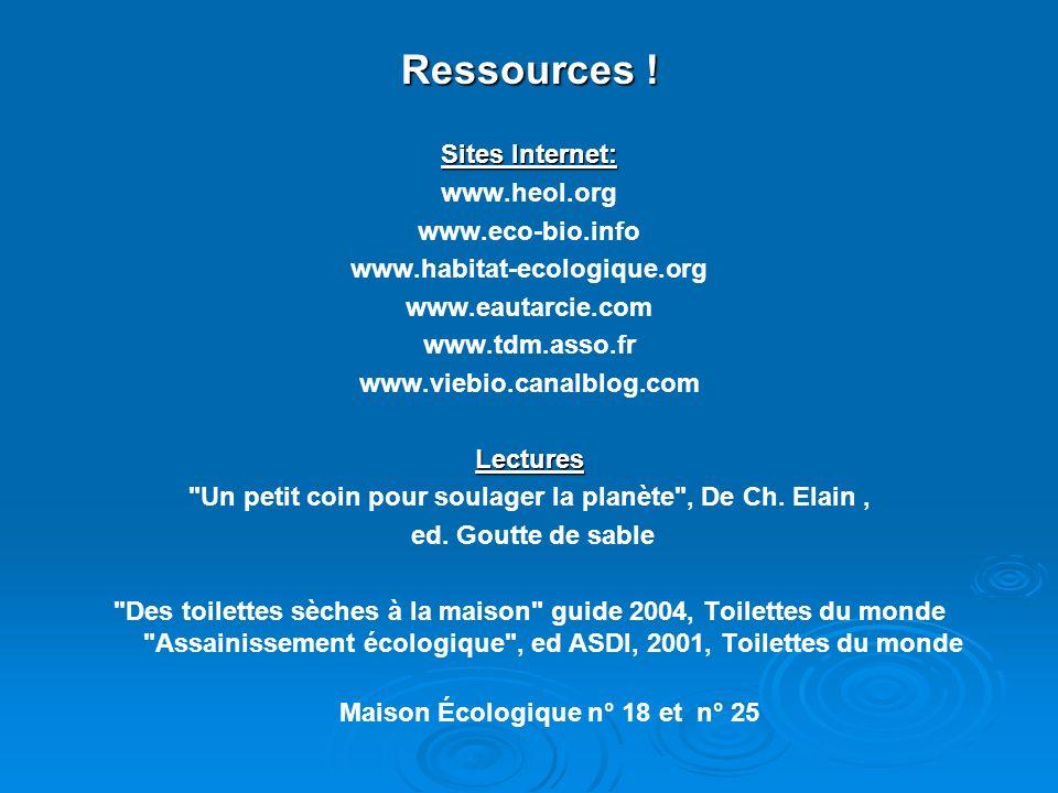 Ressources .