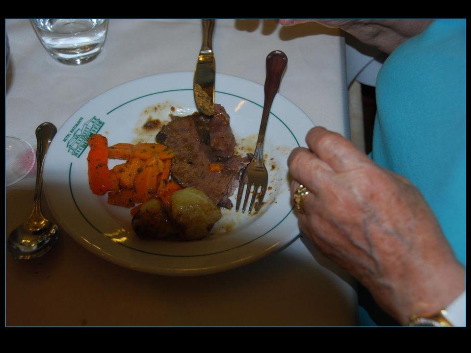 Le plat principal Bœuf braisé au vin rouge