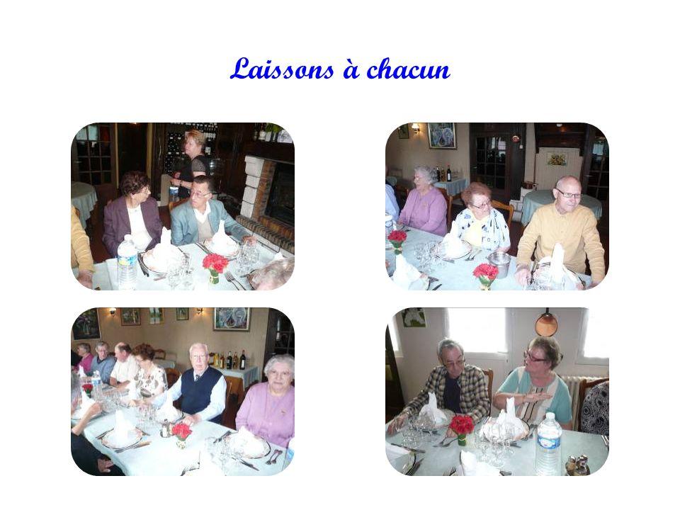 Il est toujours très agréable de se retrouver entre amis autour d'une bonne table