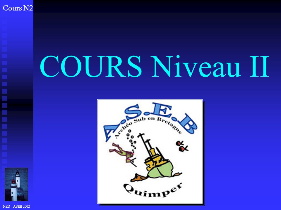 NED - ASEB 2002 COURS Niveau II Cours N2