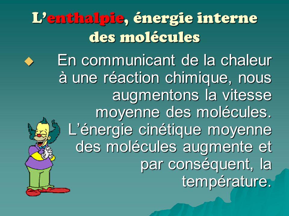 Ce que nous savons… Dautres types de réactions chimiques absorbent de lénergie; on parle de réactions endothermiques. Dautres types de réactions chimi