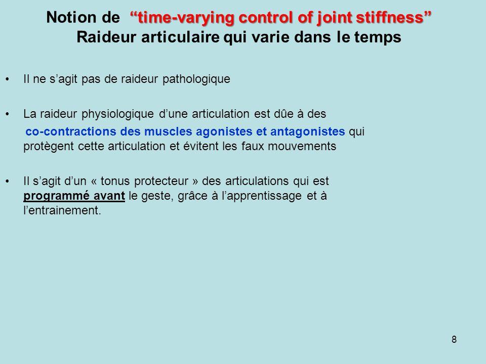 Conséquences en rééducation En fin de progression de la rééducation dune entorse de la cheville, il est indispensable de rééduquer le patient dans les conditions les plus proches des situations réelles.