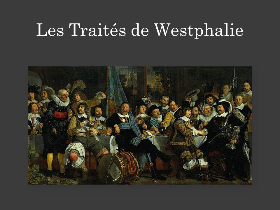 Les Traités de Westphalie
