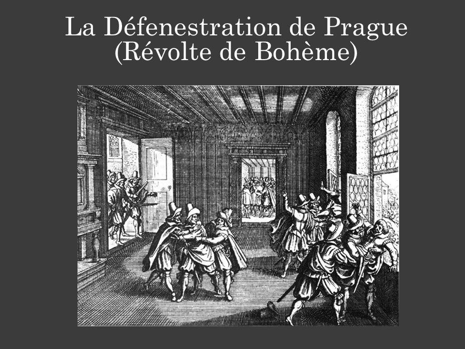 La Défenestration de Prague (Révolte de Bohème)
