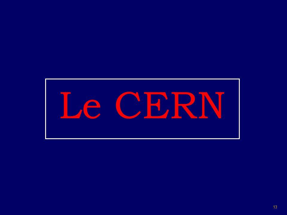 13 Le CERN