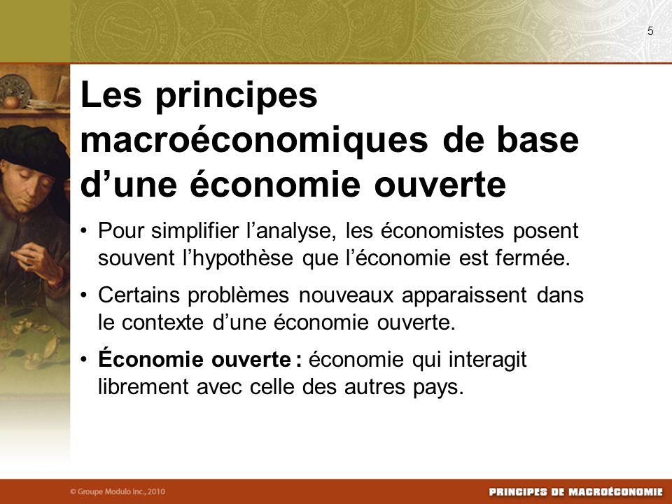 Pour simplifier lanalyse, les économistes posent souvent lhypothèse que léconomie est fermée.