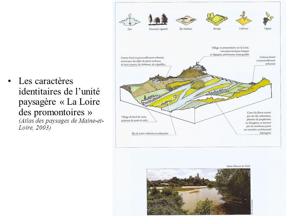 Le plan de paysage de la vallée de la Dordogne (1994) Même démarche denquête auprès de 584 communes (72% de taux de réponse) Des « ateliers de paysage » à léchelle intercommunale –Tour des communes avec élus, scientifiques, experts et techniciens –Réunion en salle avec les mêmes acteurs : Échanges et discussions autour des cartes dinventaire résultant de lenquête préalable Échanges et discussions autour des questions de paysage soulevées lors de la visite collective de la commune Réflexion collective sur les réponses à apporter notamment en matière daménagement du territoire.
