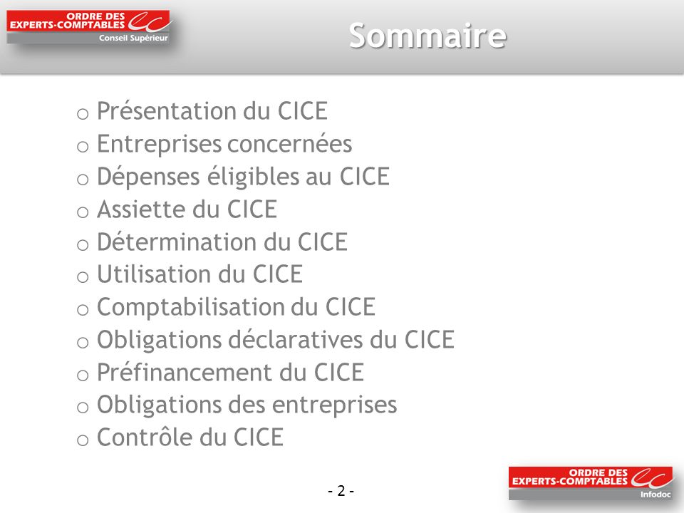 - 33 - Obligations des entreprises Le CICE est-il accordé sans contrepartie .