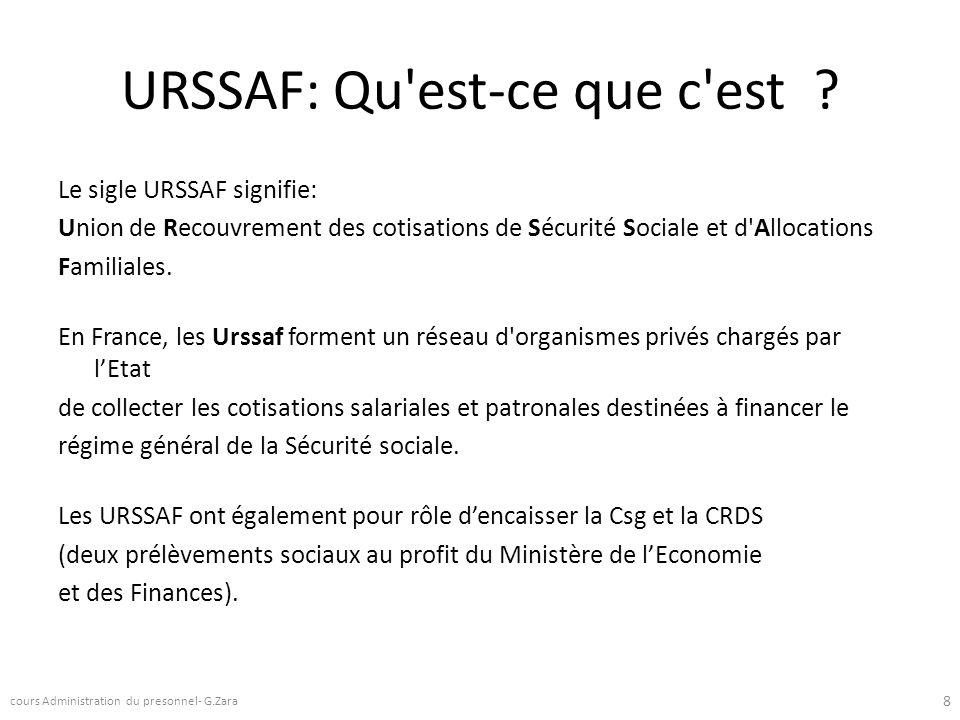 URSSAF: Qu'est-ce que c'est ? Le sigle URSSAF signifie: Union de Recouvrement des cotisations de Sécurité Sociale et d'Allocations Familiales. En Fran