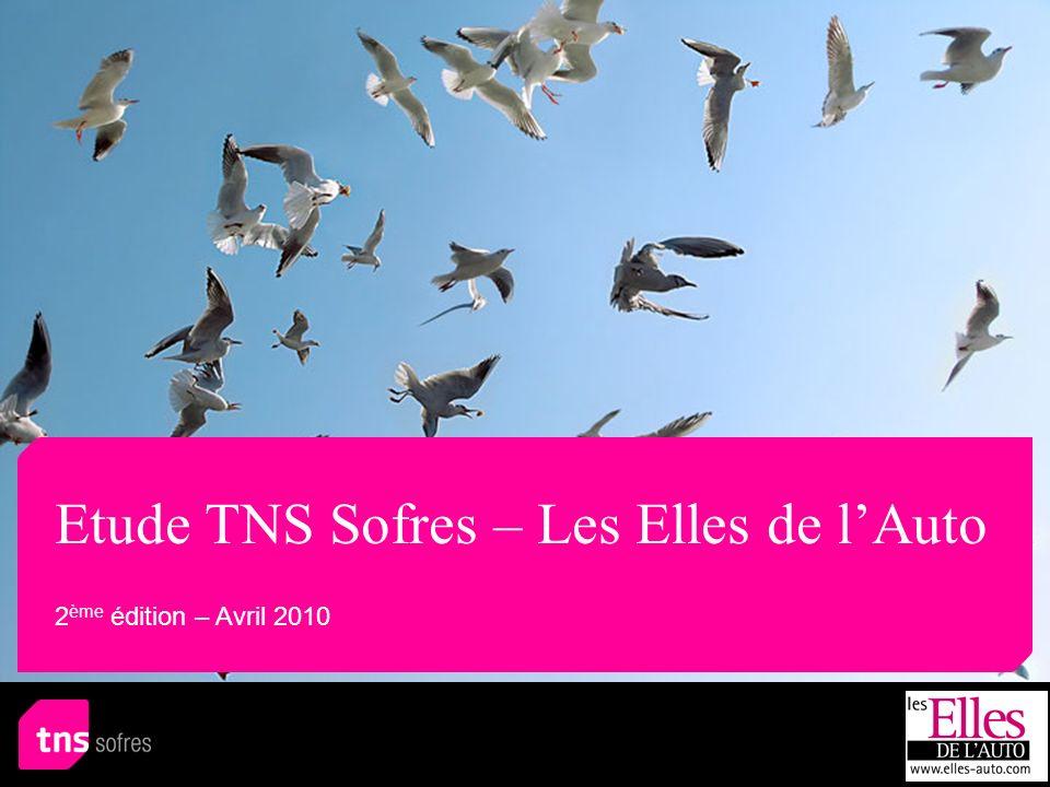 Etude TNS Sofres – Les Elles de lAuto 2 ème édition – Avril 2010