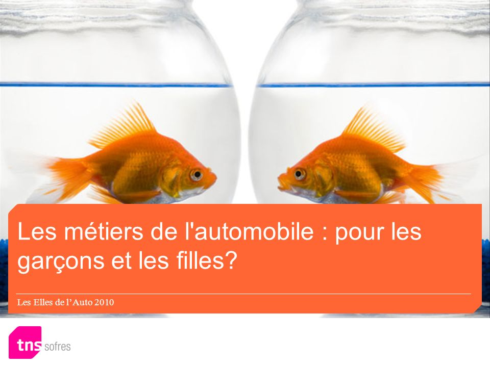 Les Elles de lAuto 2010 Les métiers de l'automobile : pour les garçons et les filles?