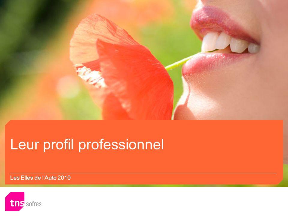 Leur profil professionnel Marketing / Communication/ Commercial … Manque de diversité.